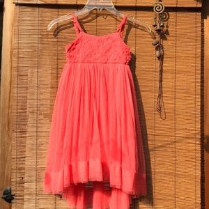 Eliane et Lena girls dress tulle tutu summer sweet